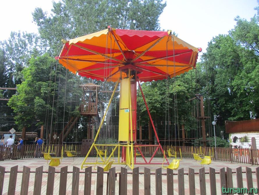 Адлерский парк культуры и отдыха-3