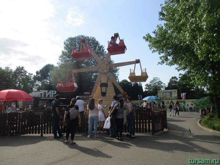 Адлерский парк культуры и отдыха-7