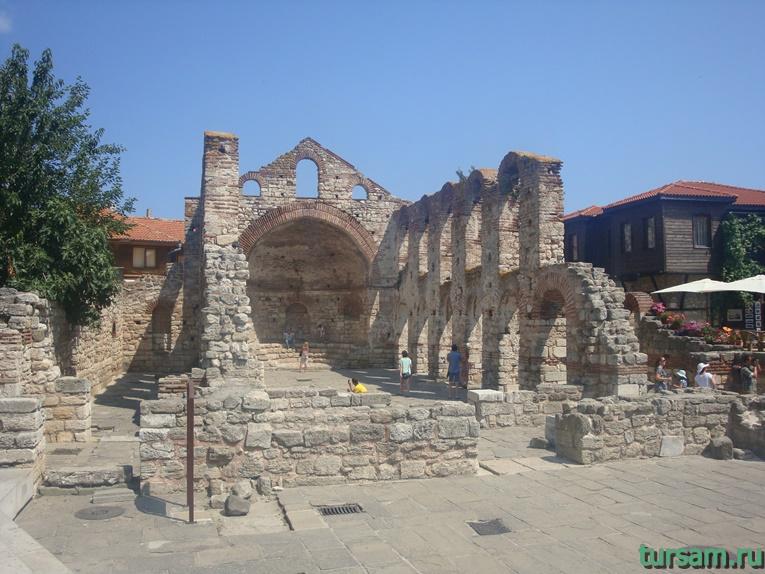 Базилика Святой Софии в Несебре
