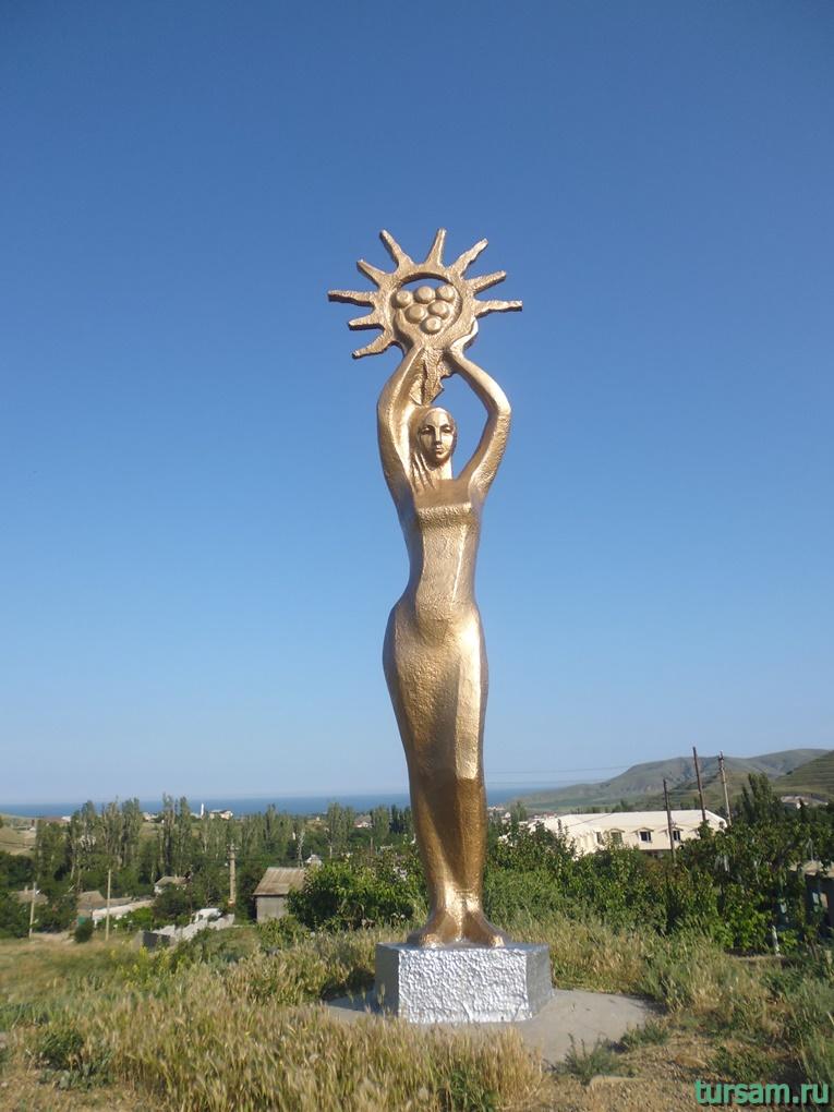 Богиня плодородия в Солнечной Долине