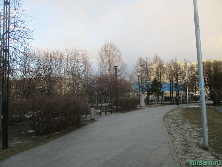 Братиславский парк в Москве-10