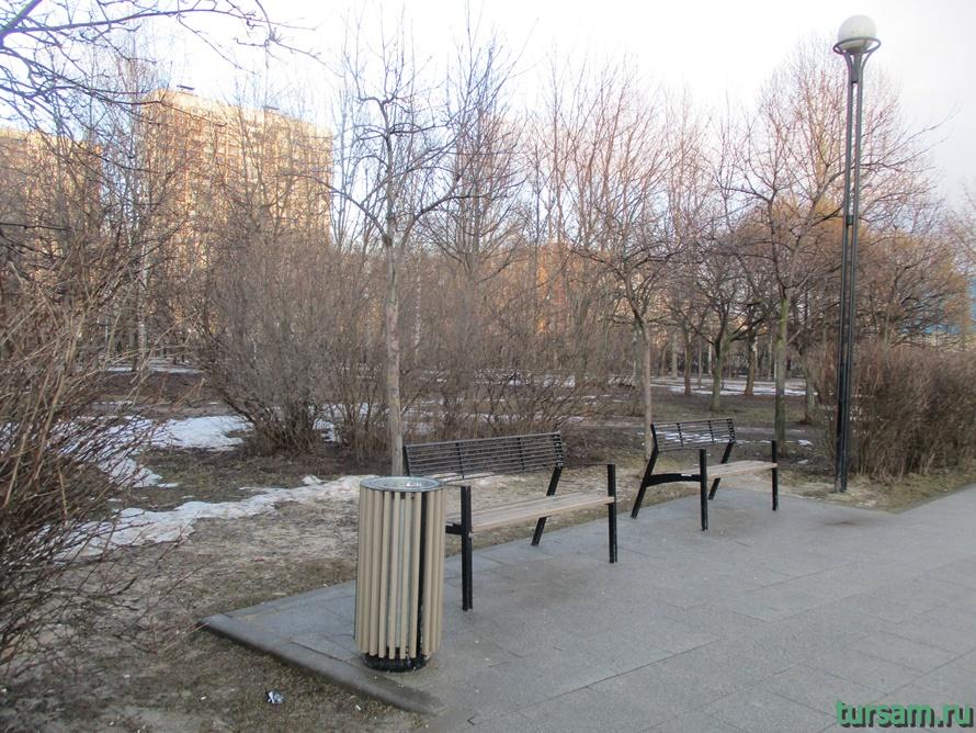 Братиславский парк в Москве-11