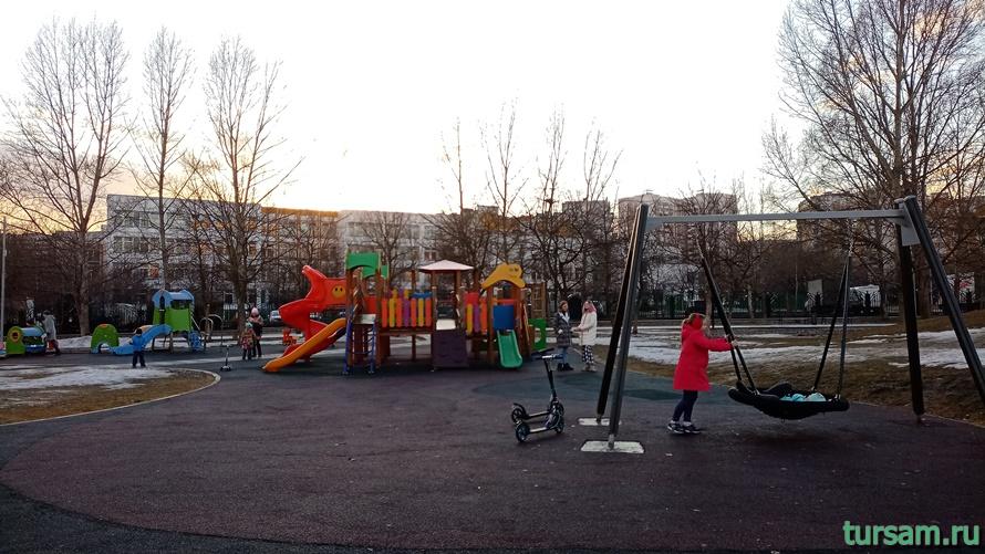 Братиславский парк в Москве-22