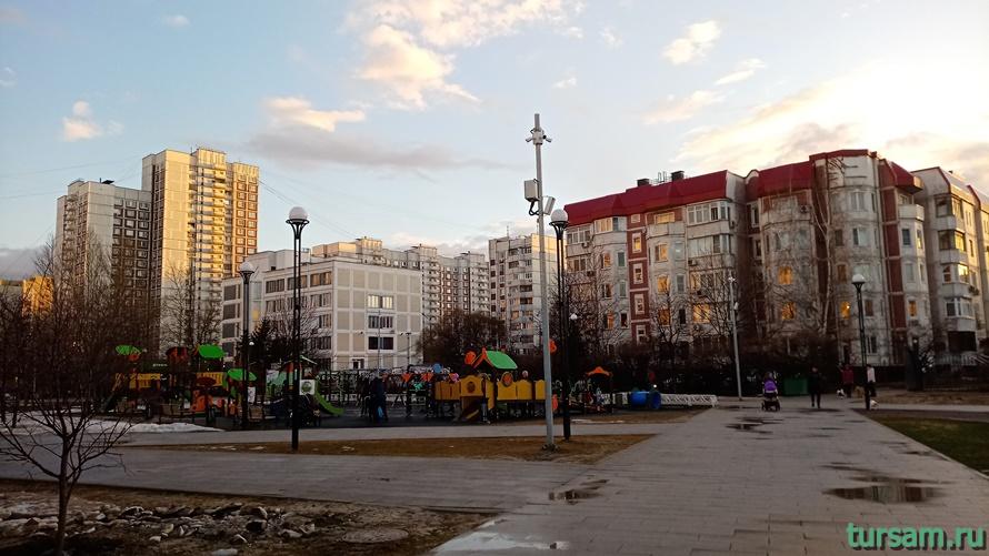 Братиславский парк в Москве-24