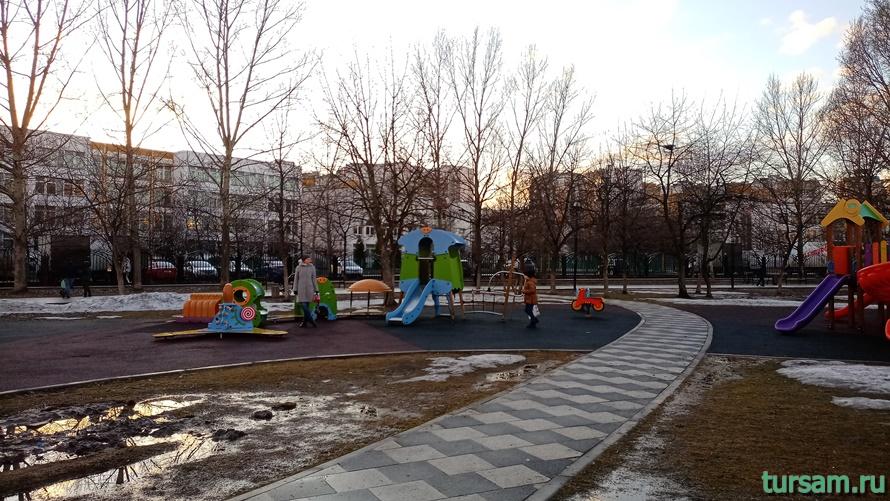 Братиславский парк в Москве-25