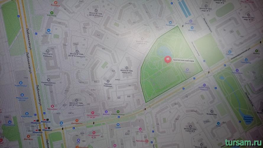 Братиславский парк в Москве-26