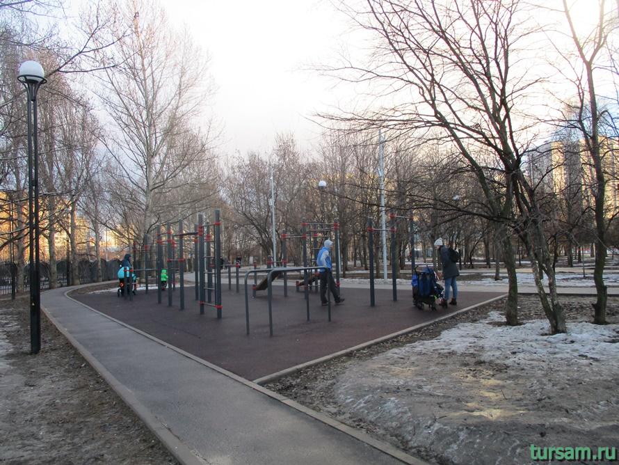 Братиславский парк в Москве-3