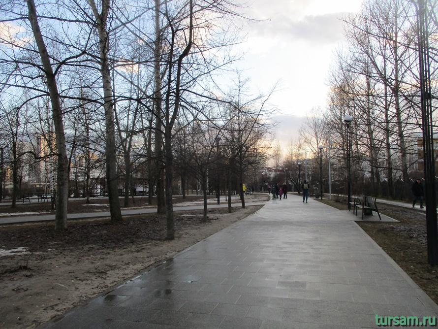 Братиславский парк в Москве-4