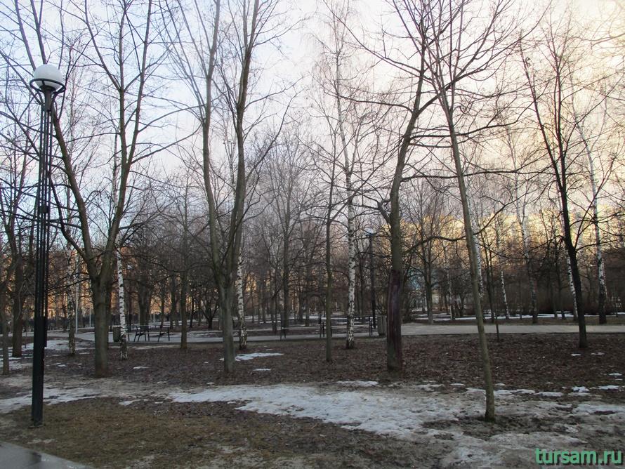 Братиславский парк в Москве-5