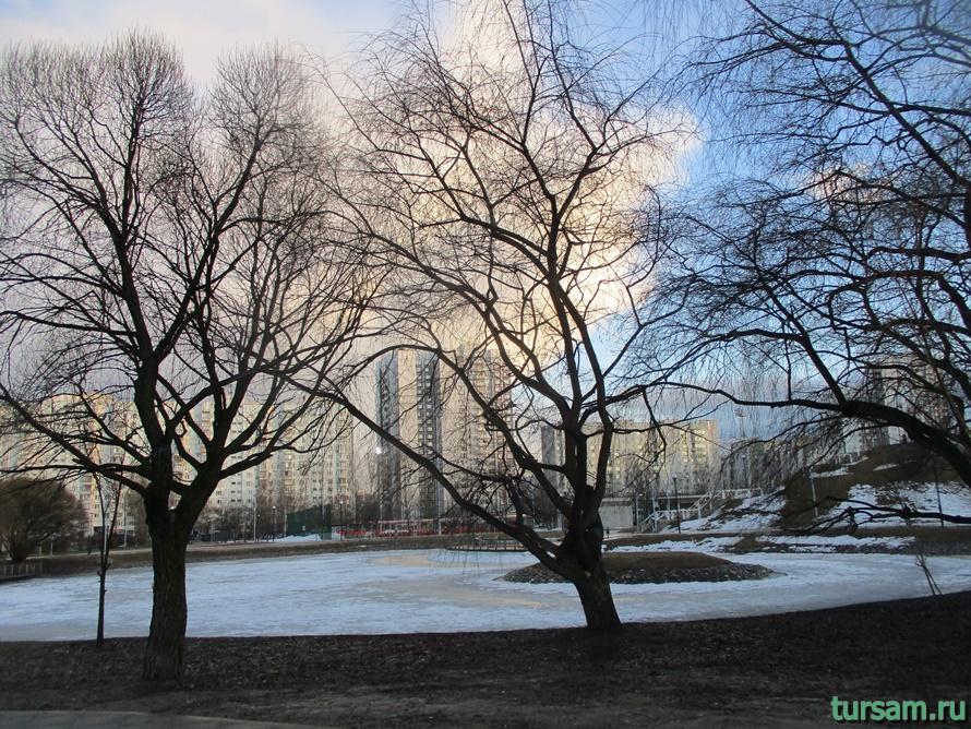 Братиславский парк в Москве-7