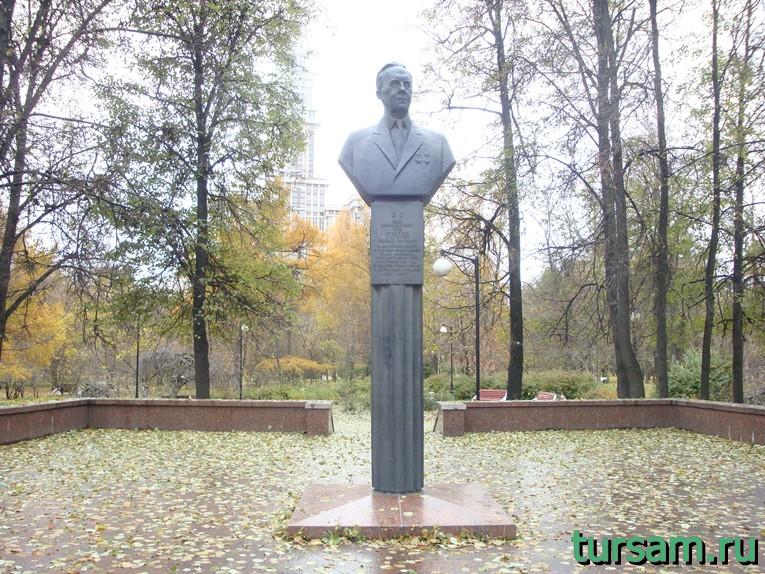 Бюст Николая Сергеевича Строева