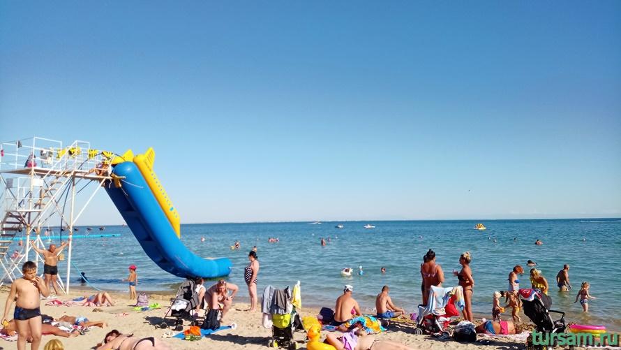 Центральный пляж Евпатории-3