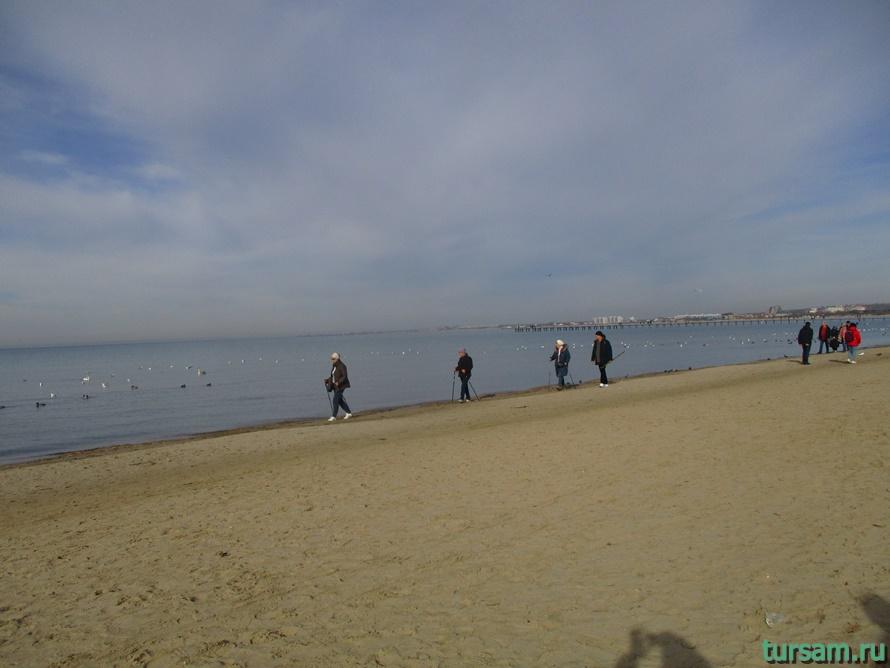 Центральный пляж в Анапе-4