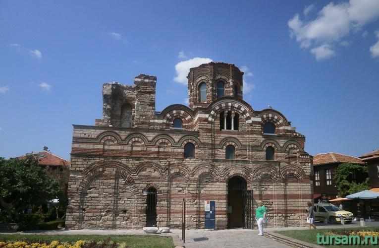 Церковь Христа Пантократора в Несебре