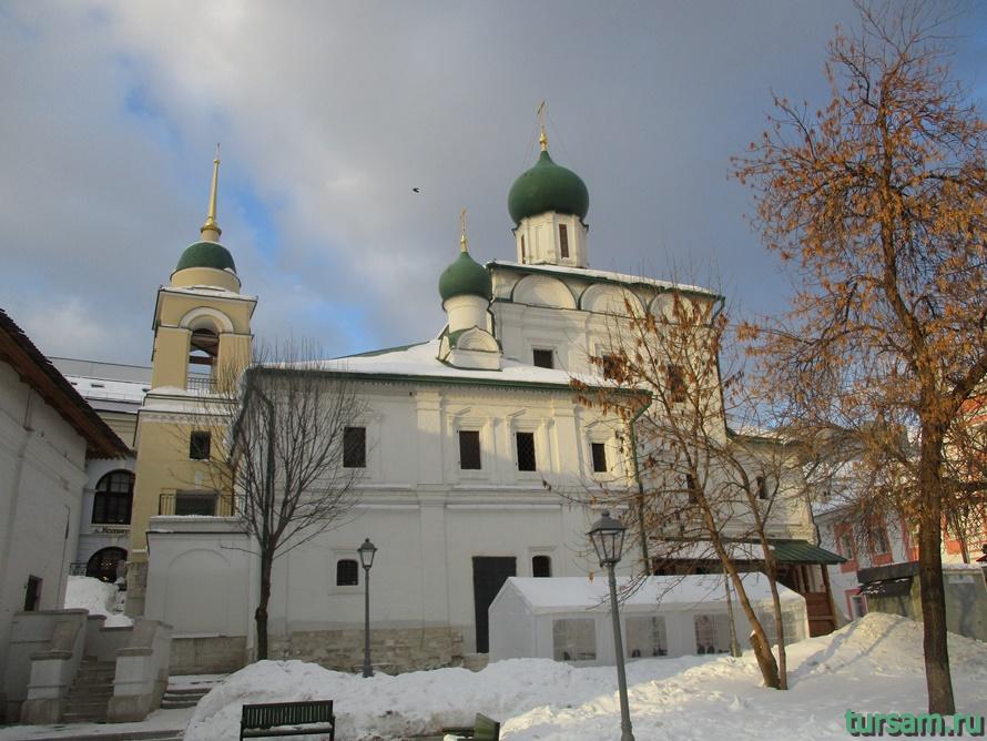 Церковь Максима Блаженного на Варварке-2