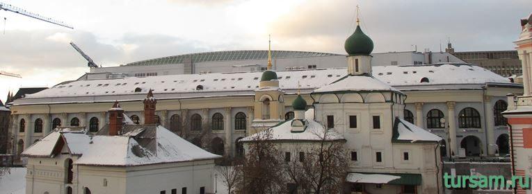 Церковь Максима Блаженного на Варварке