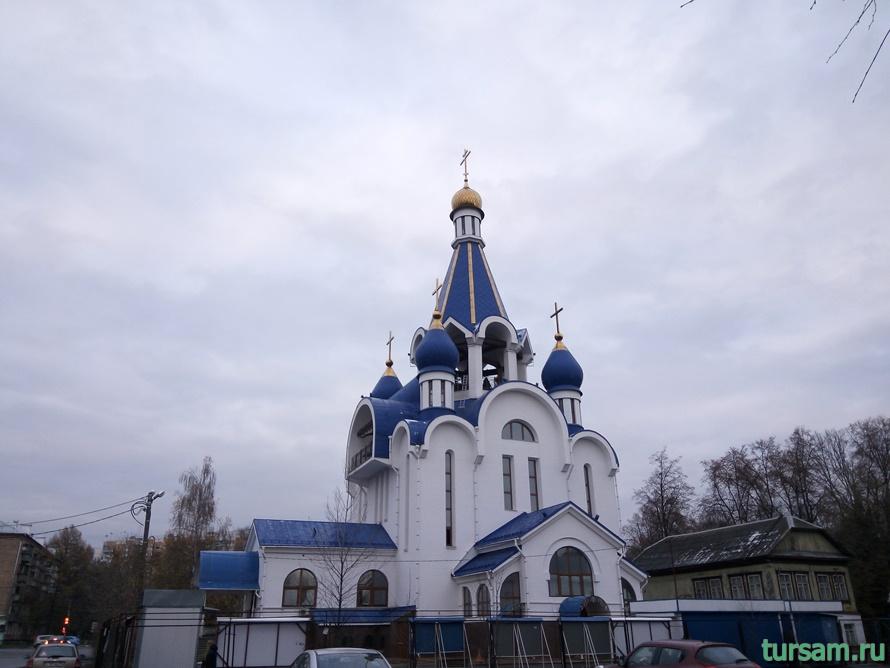 Церковь Рождества Богородицы в Королеве-8
