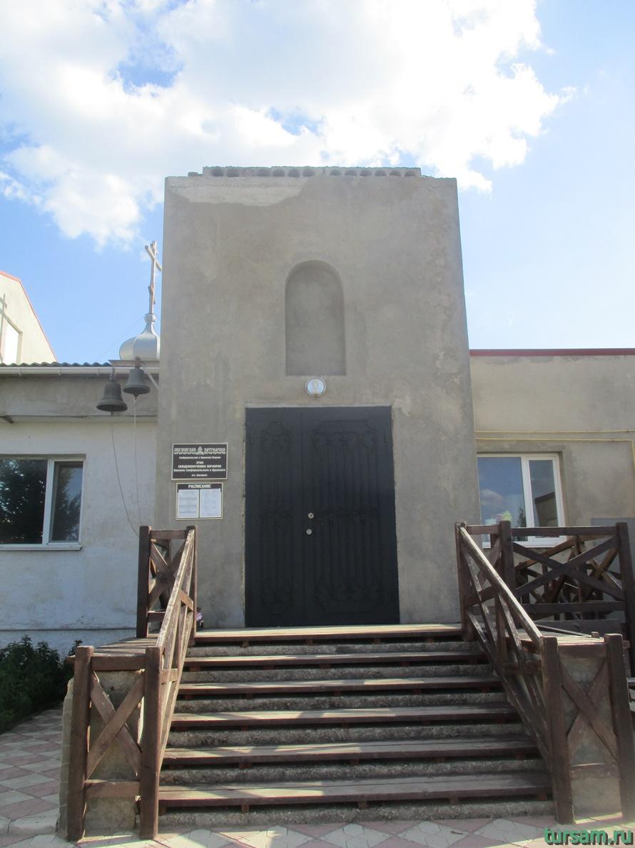 Церковь священномученика Порфирия в Заозерном-4
