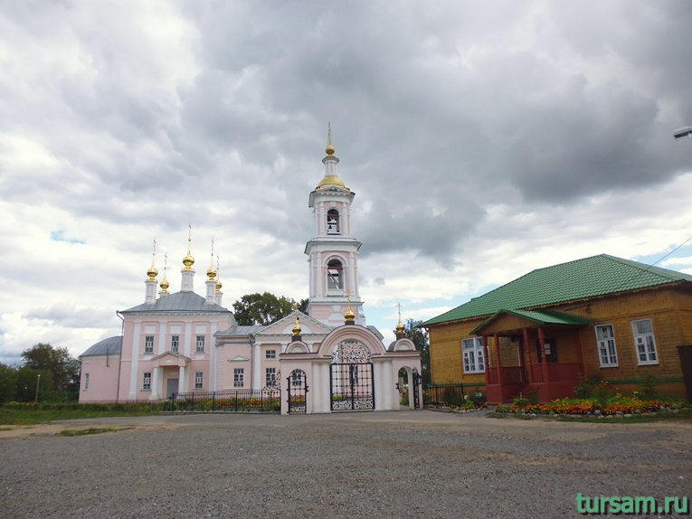 Церковь Вознесения Господня в городе Кимры