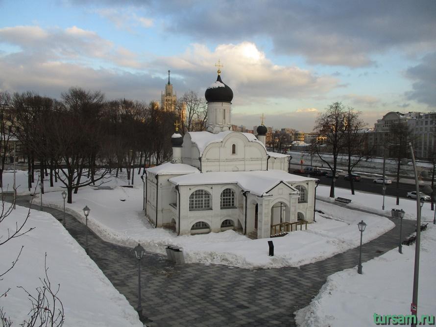 Церковь Зачатия святой Анны в Москве-4