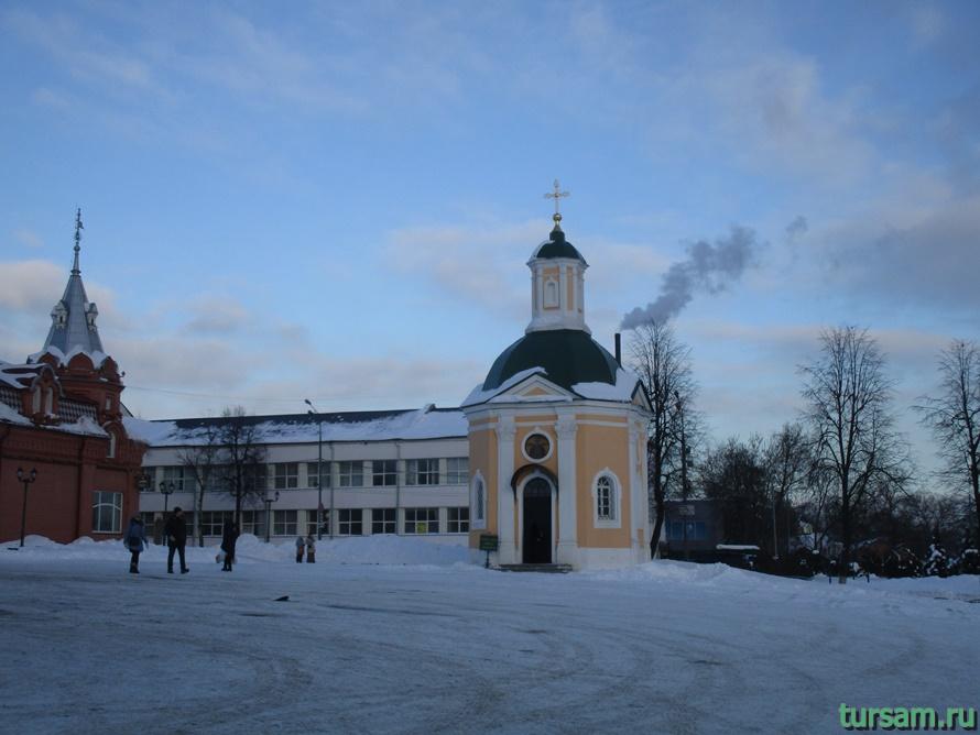 Часовня Красногорская в Сергиевом Посаде-4