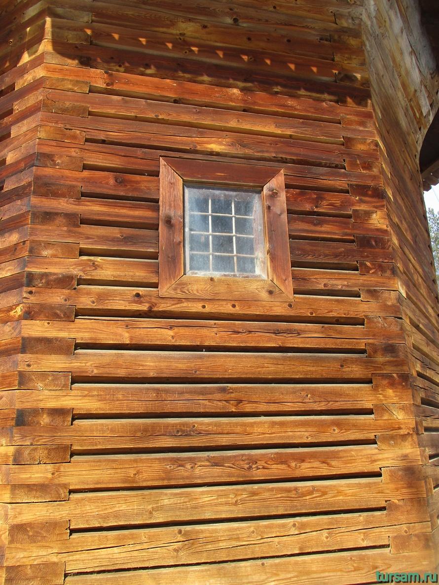 Часовня в музее деревянного зодчества-2