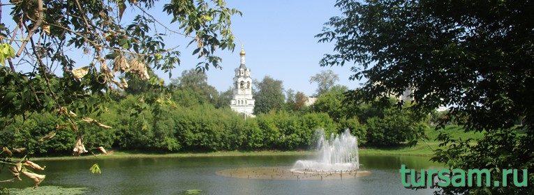 Черкизовский пруд в Москве