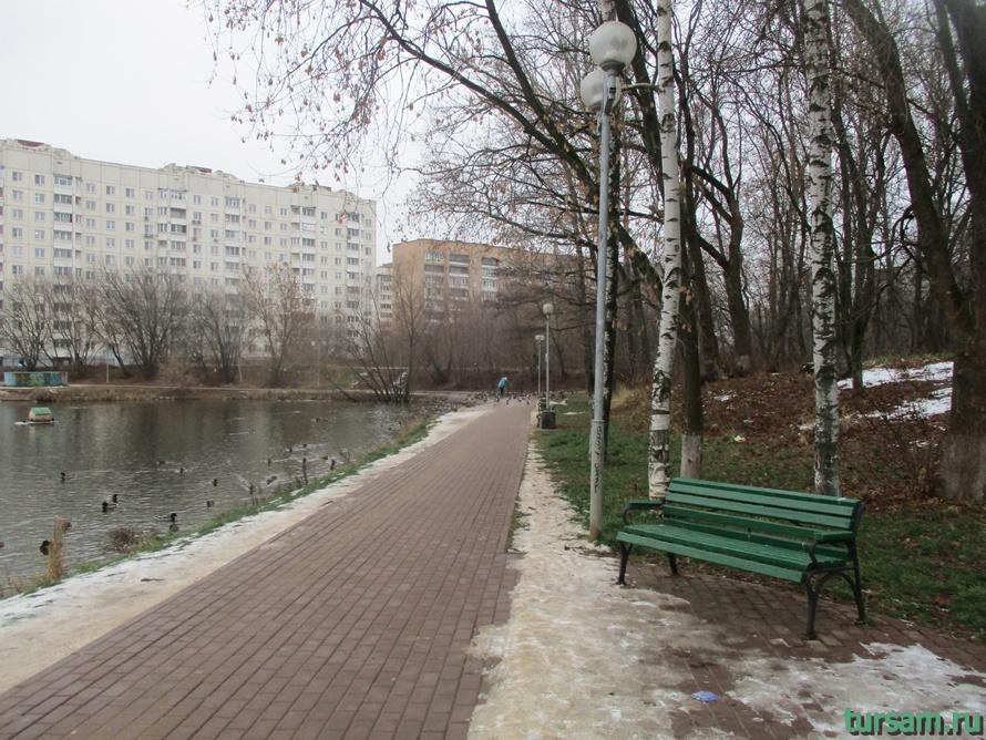 Чкаловский парк в Щелково-3