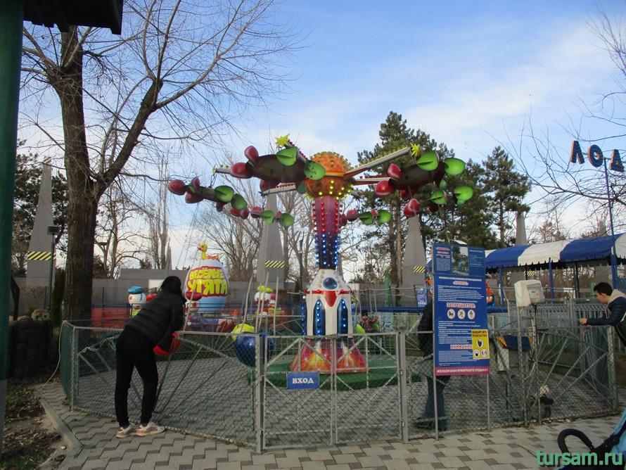 Детский парк Джунгли в Анапе-10