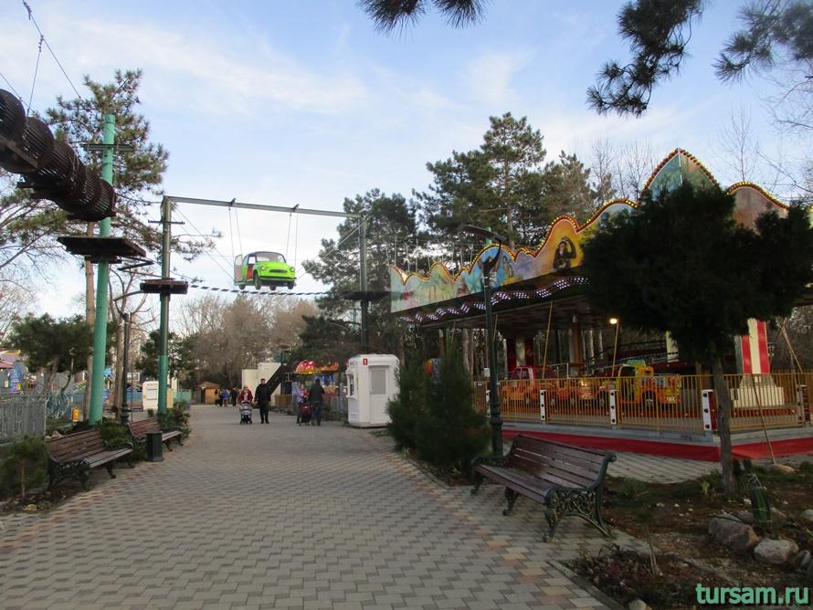 Детский парк Джунгли в Анапе-11