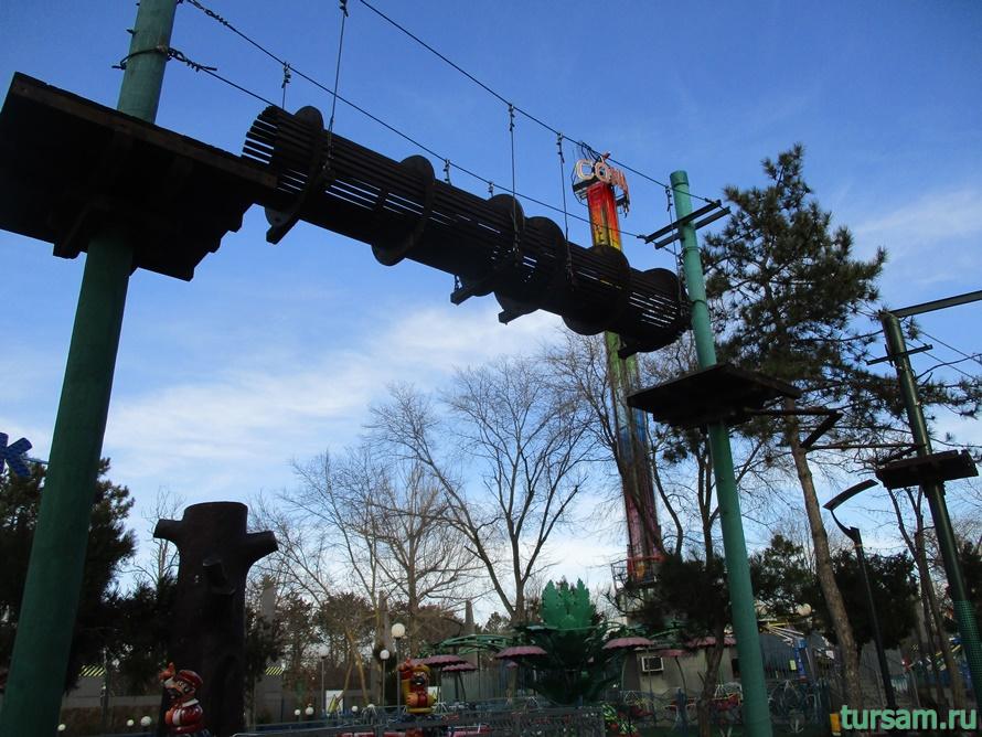 Детский парк Джунгли в Анапе-12