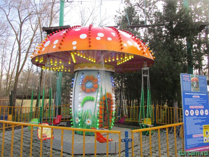 Детский парк Джунгли в Анапе-13