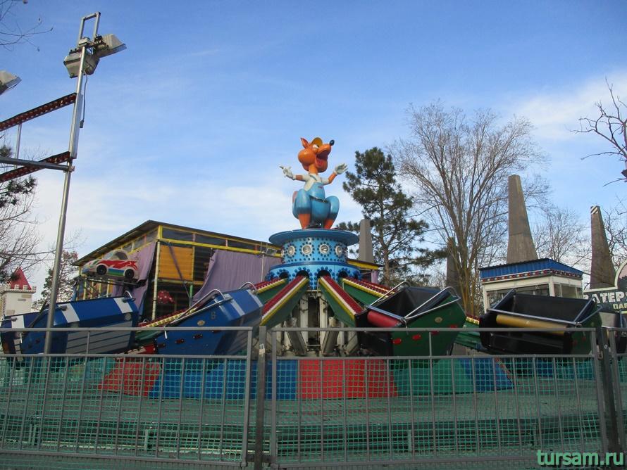 Детский парк Джунгли в Анапе-14