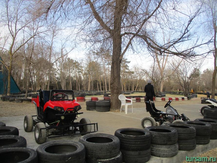 Детский парк Джунгли в Анапе-15