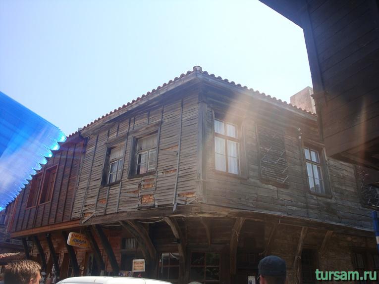 Дома в старой части Созополя