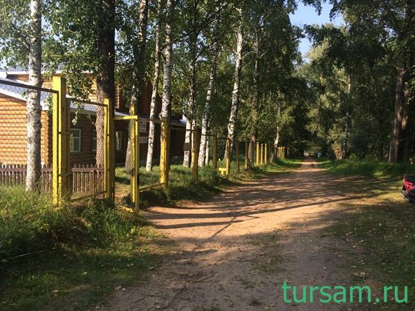 Дорога с пляжа к санаторию Карачарово