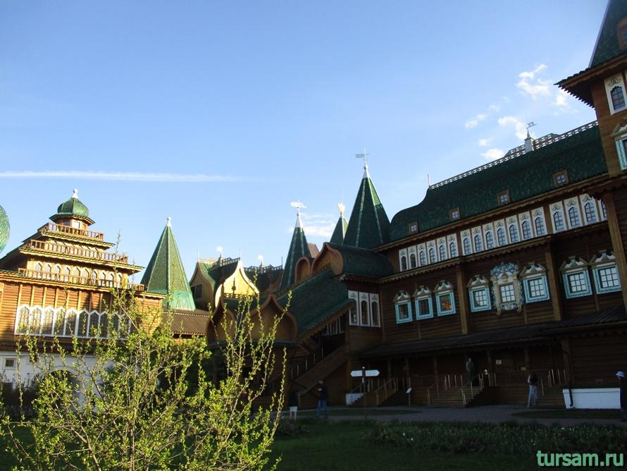 Дворец царя Алексея Михайловича в Коломенском-10