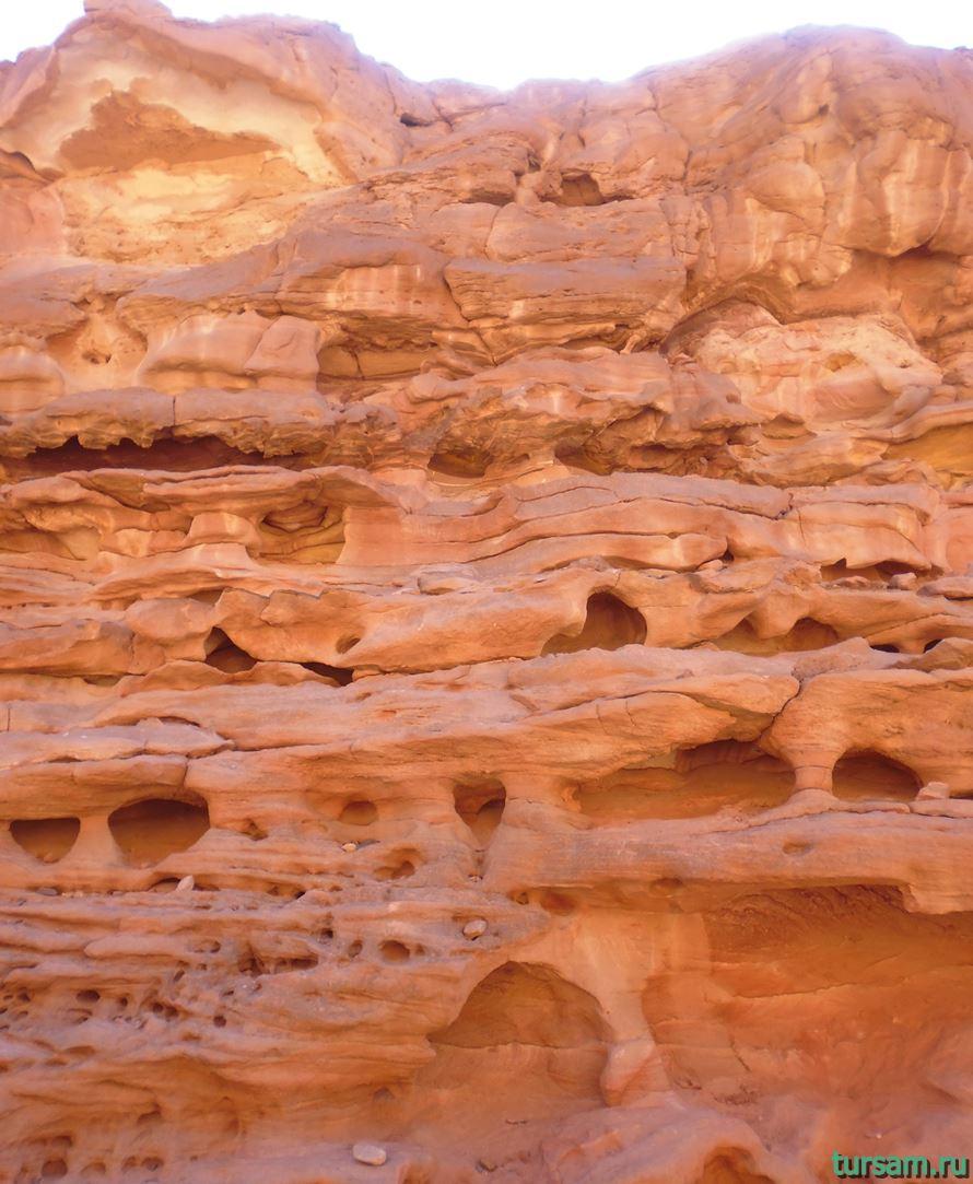 Фото цветного каньона в Египте-4