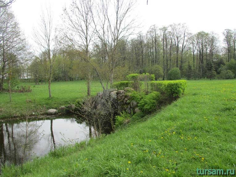 Фото на территории одного из ландшафтных парков рядом с Несвижским замком-16