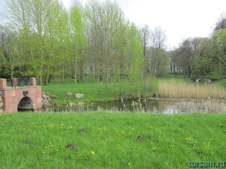 Фото на территории одного из ландшафтных парков рядом с Несвижским замком-17