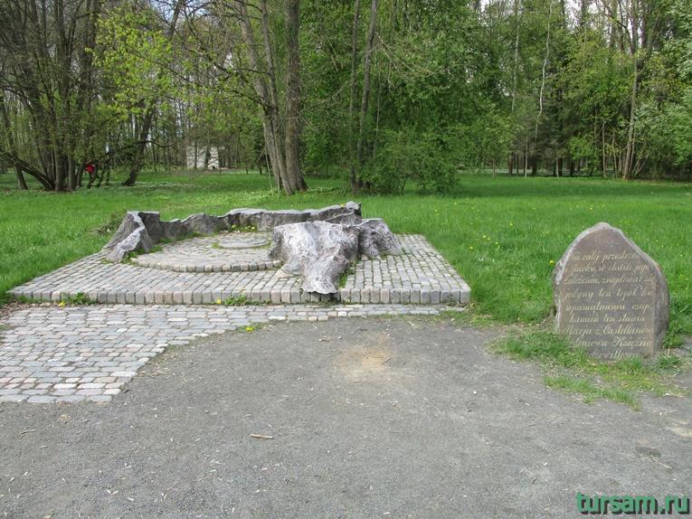 Фото на территории одного из ландшафтных парков рядом с Несвижским замком-22
