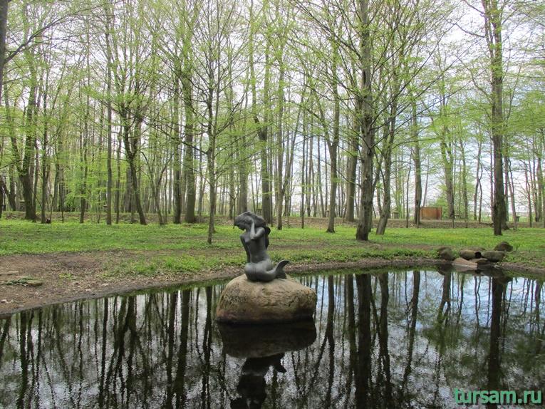 Фото на территории одного из ландшафтных парков рядом с Несвижским замком-25