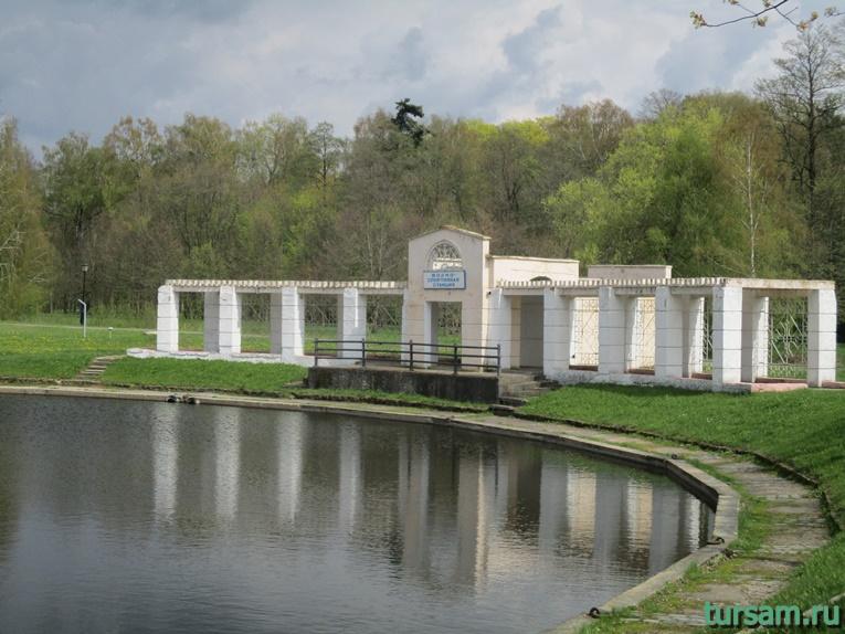 Фото на территории одного из ландшафтных парков рядом с Несвижским замком-3