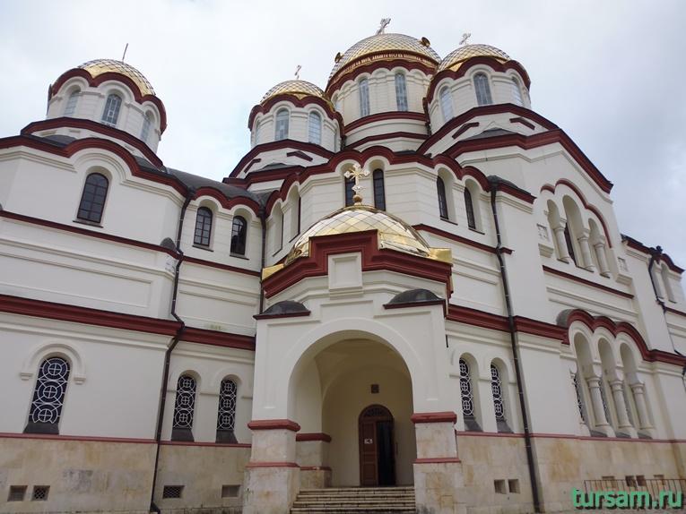 Фото Новоафонского монастыря
