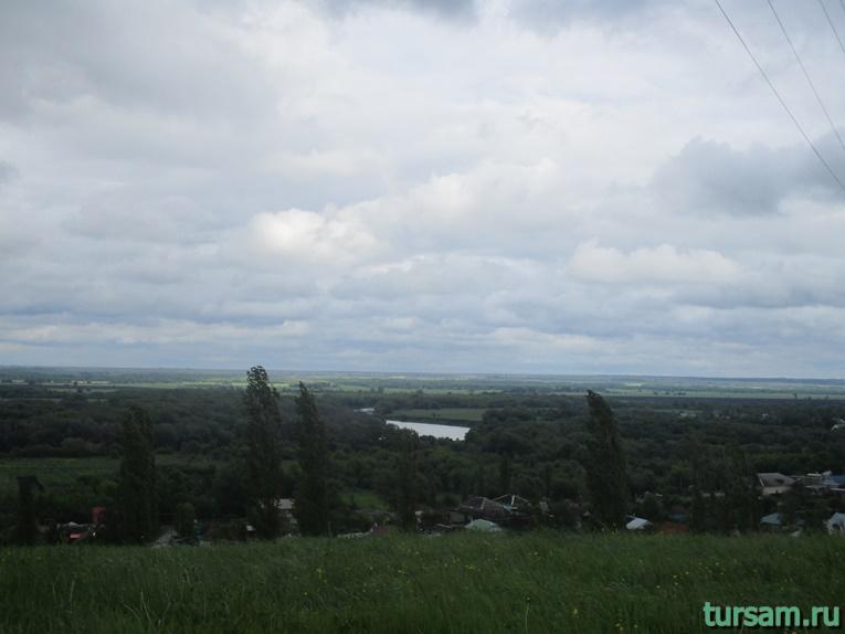 Фото одного из видов на реку Дон