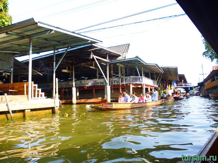 Фото плавучего рынка в Паттайе №3
