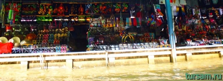 Фото плавучего рынка в Паттайе №4