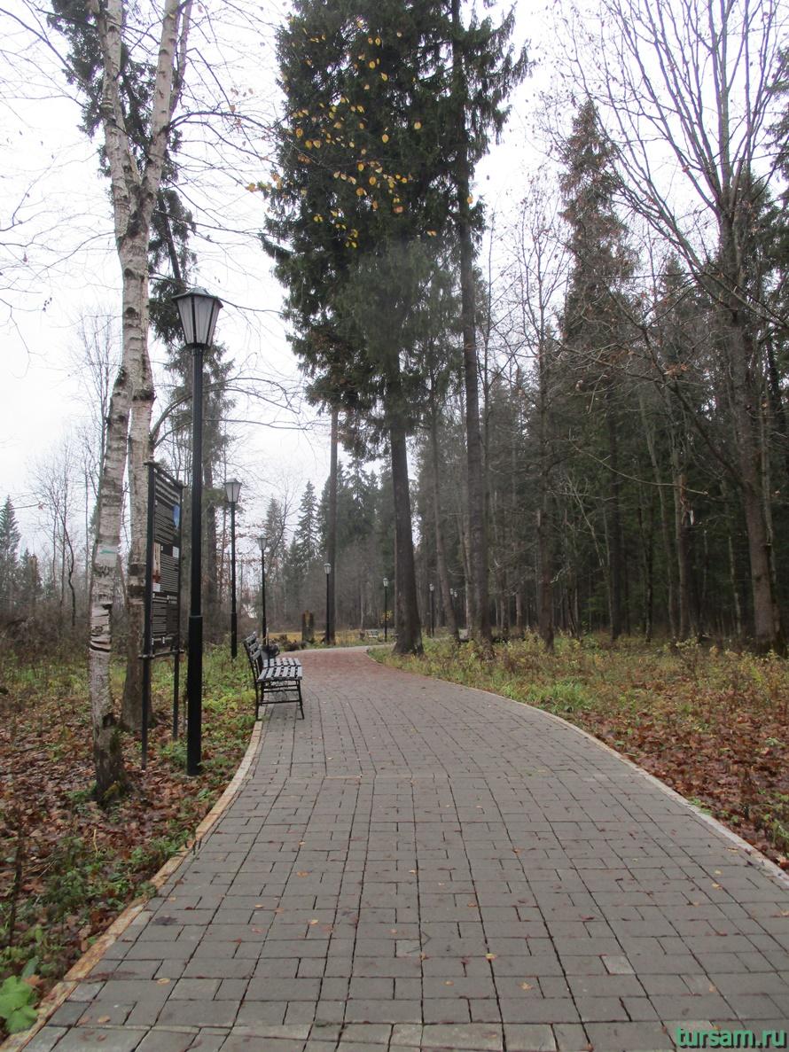Фото тропы от станции Абрамцево до усадьбыАбрамцево-3