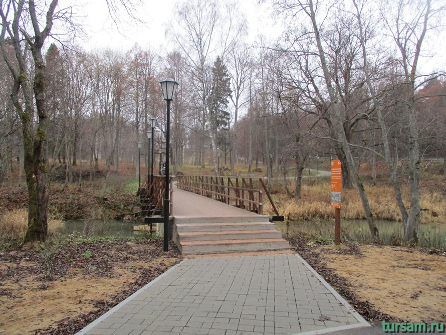 Фото тропы от станции Абрамцево до усадьбыАбрамцево-5