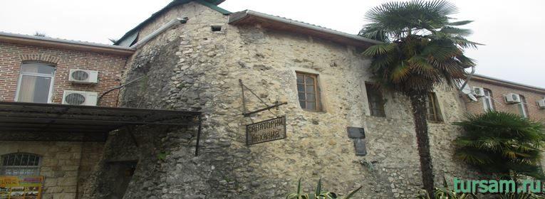 Генуэзская башня в Абхазии-3